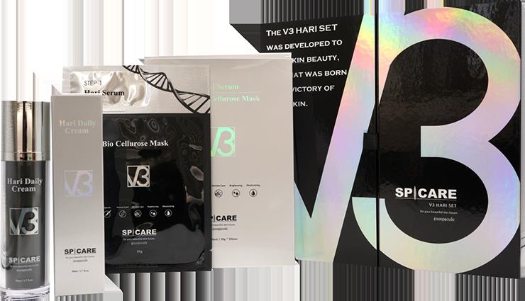 THE V3 HARI SET 商品内容